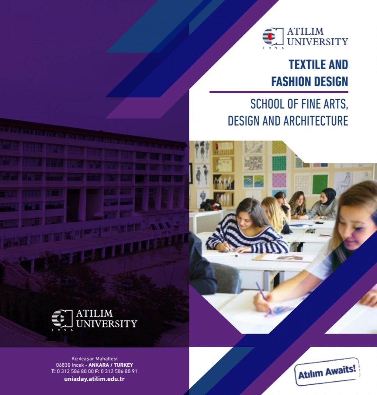 Atilim University Textile And Fashion Design